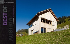 Publikation Ferienhaus Marul in BEST OF AUSTRIA. Architecture 2012_13
